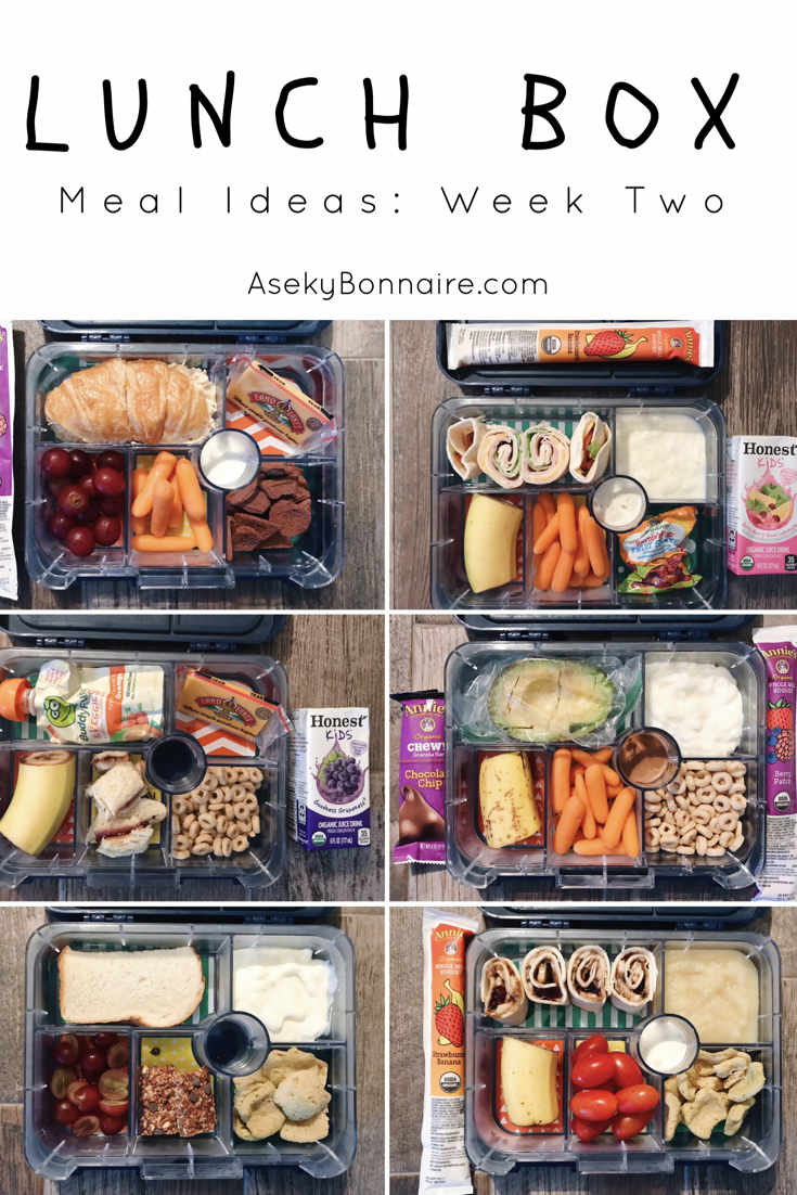 Lunchbox Meal Ideas: Week Two