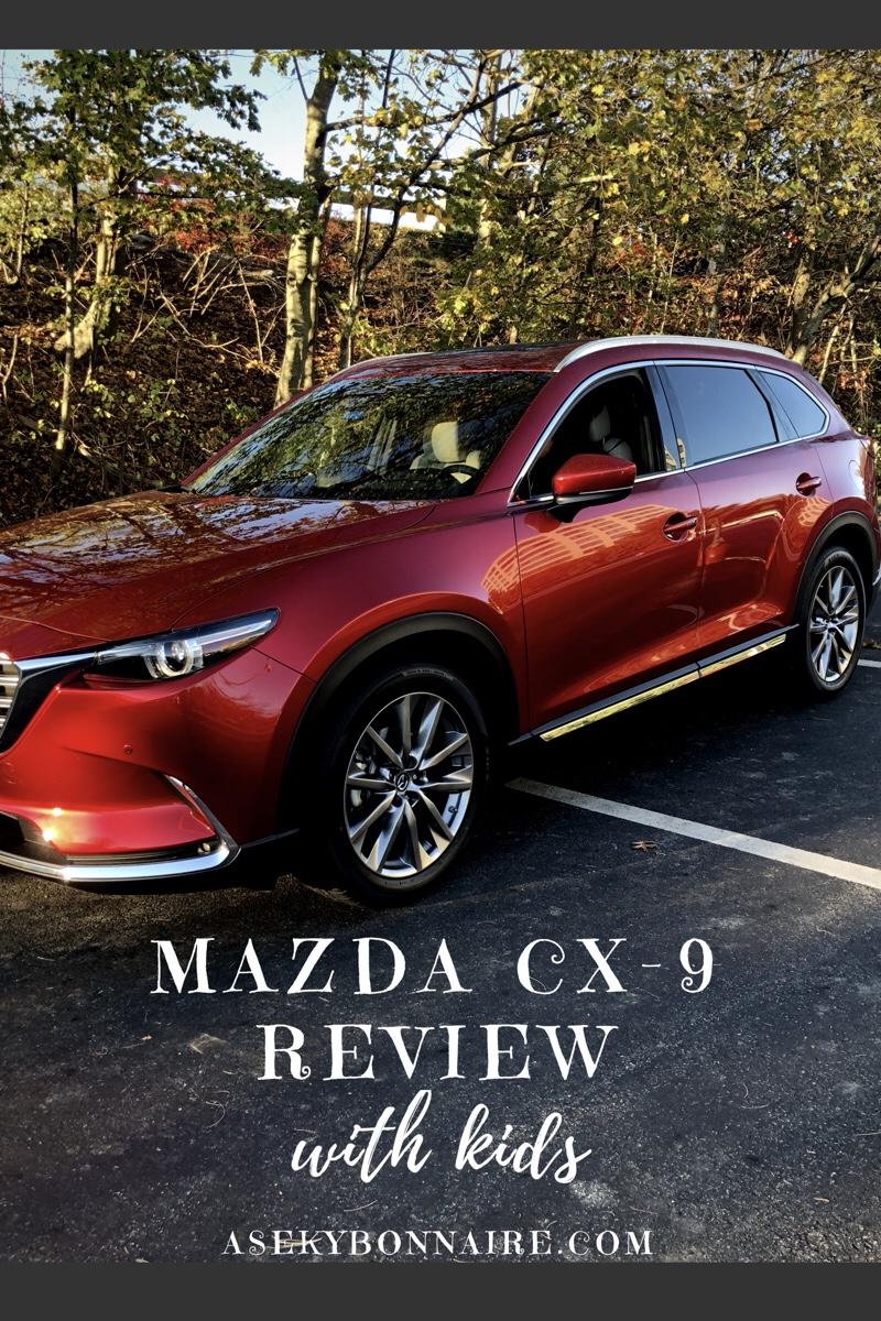 Review of the Mazda CX-9 with three kids