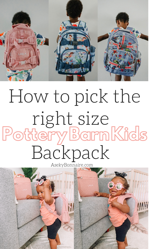Pottery Barn Kids Backpack Size Comparison Aseky Co